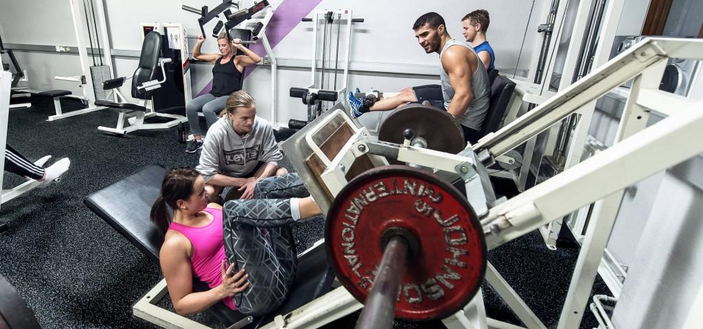 gym för 14 åringar