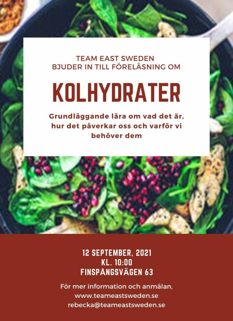 FÖRELÄSNING KOLHYDRAT
